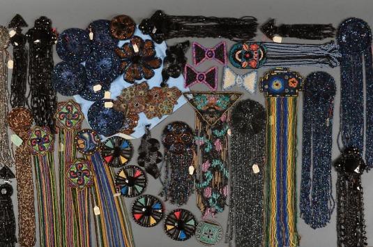 Ornementations de robes XIXème siècle