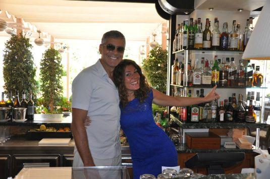 George Clooney et Amal Alamuddin au Cipriani