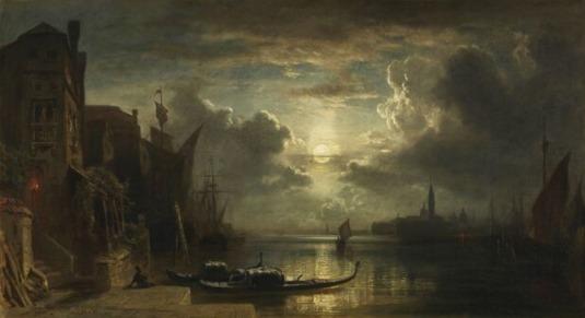 Venise au clair de lune