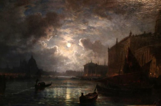 Venedig bei Mondschein