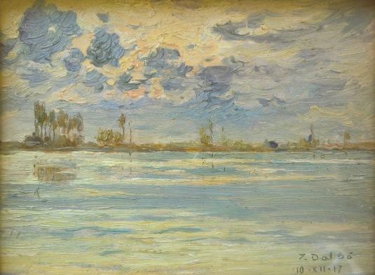 Scorcio della Laguna a Venezia