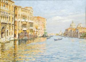 Venezia, Il Canal Grande Presso La Salute