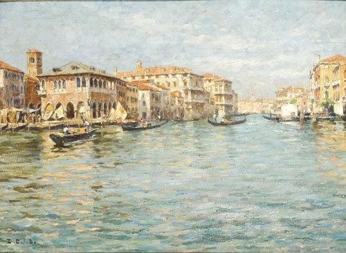 Venezia, Il Canal Grande verso Vendramin
