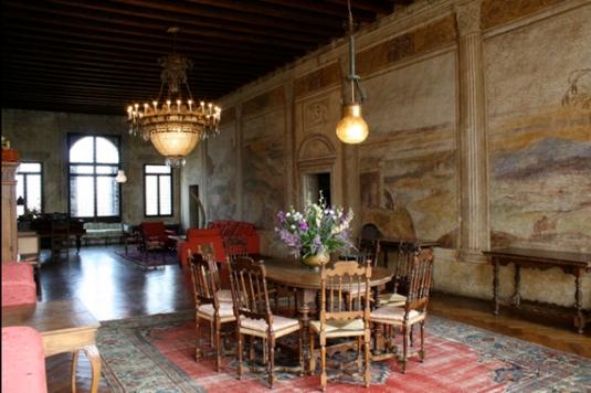 Villa Agostini Tireta à Cusignana di Giavera dei Montello