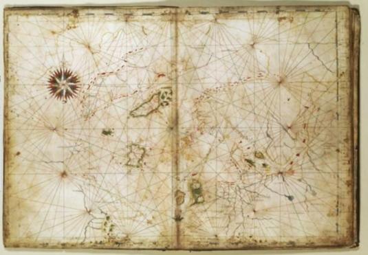 Carta marina - Olaus Magnus