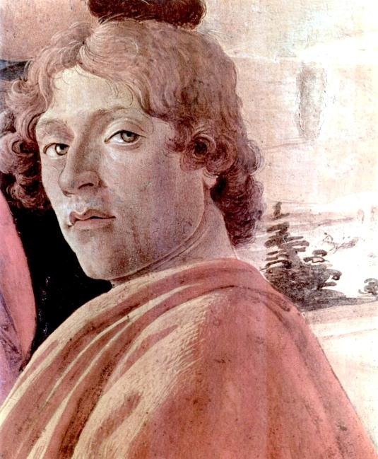 Sandro Botticelli - Autoportrait