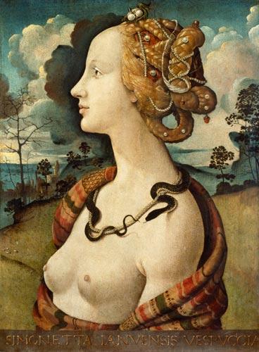 Portrait de Simonetta Vespucci
