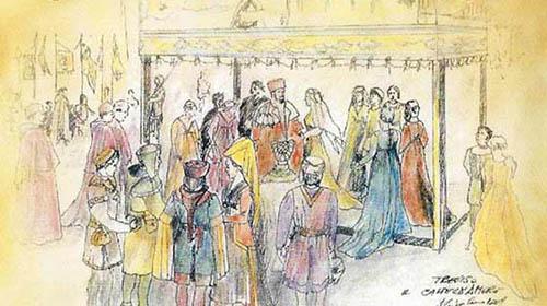 Disfida del Castel d'Amore con la Dama Trevigiana