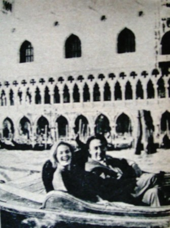 Jean Seberg et Romain Gary