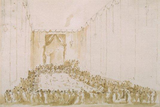 Banquet Tsarevich-Pavel-Petrovich- Venise