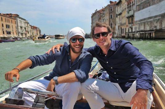 Francesco avec Raphael de Casabianca