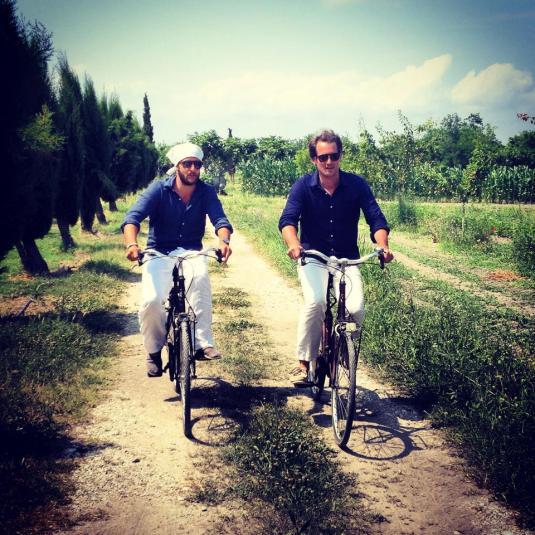 Petite balade sur l île de San Erasmo dans la lagune de Venise avec Francesco