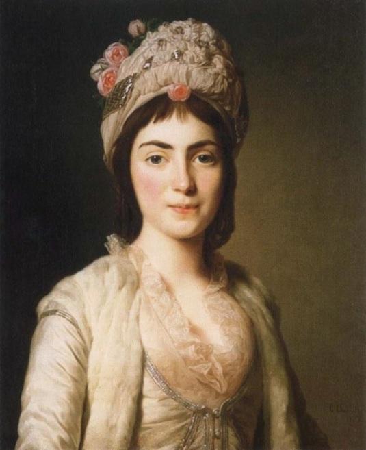 Alexander Roslin – Princesse Zoie (Zoe) Ghika