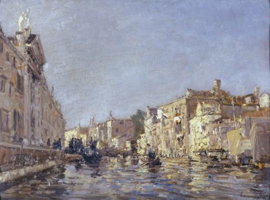 Rio di San Giovanni e Paolo à Venezia