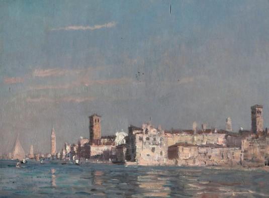 Venise depuis la lagune