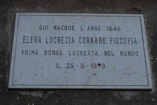 25-6-1678 - Elena Cornaro Piscopia