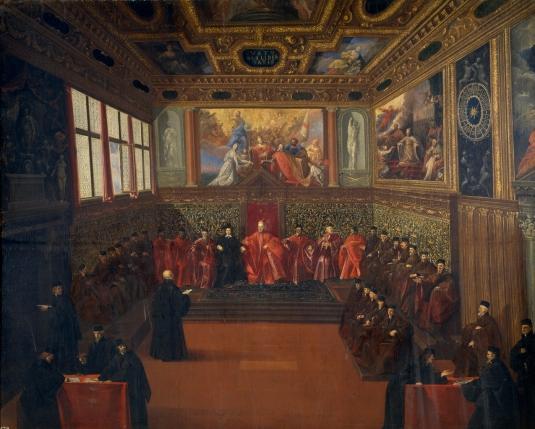 Audience de l'ambassadeur d'Espagne à Venise - 1604 (Museo del Prado, Madrid)
