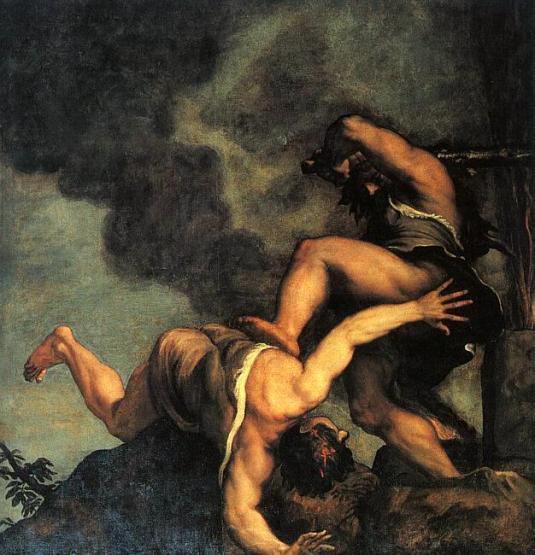 Cain et Abel - Titien