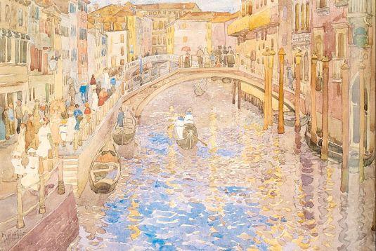 Canal à Venise - Maurice Prendergast
