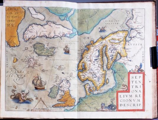 Carta de Navegar - 1588