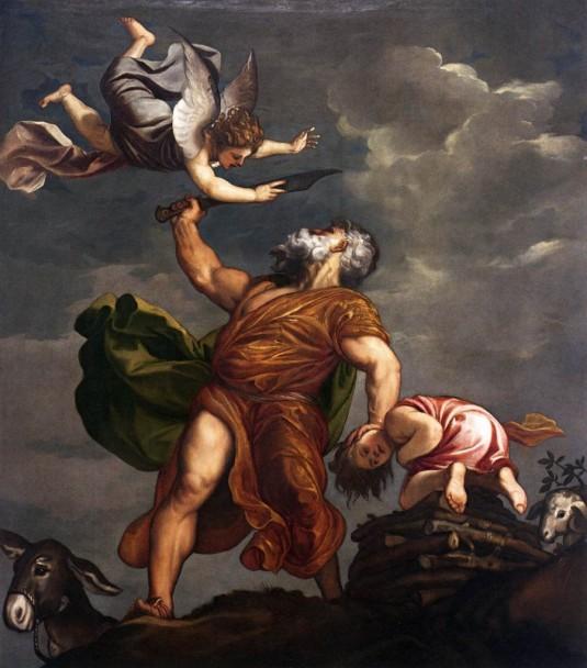 Le Sacrifice d'Isaac - Titien