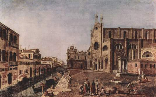 Marieschi - San Giovani e Paolo