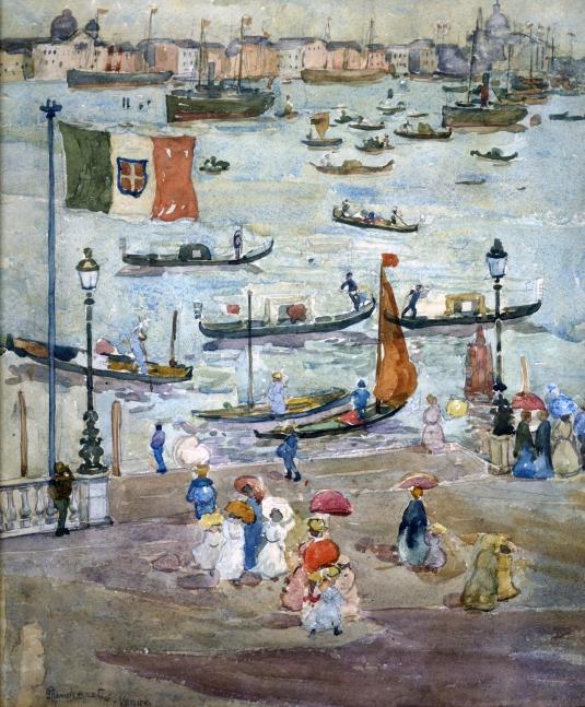 Maurice Prendergast - Canal de la Giudecca