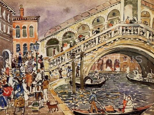 Maurice Prendergast - Pont du Rialto