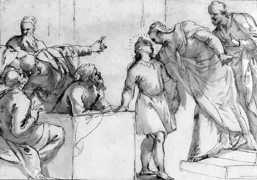 Le Christ et les docteurs