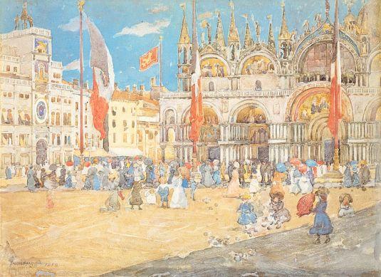 San Marco - Maurice Prendergast