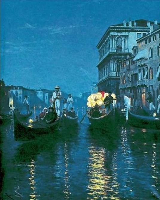 Sérénade sur le Grand Canal