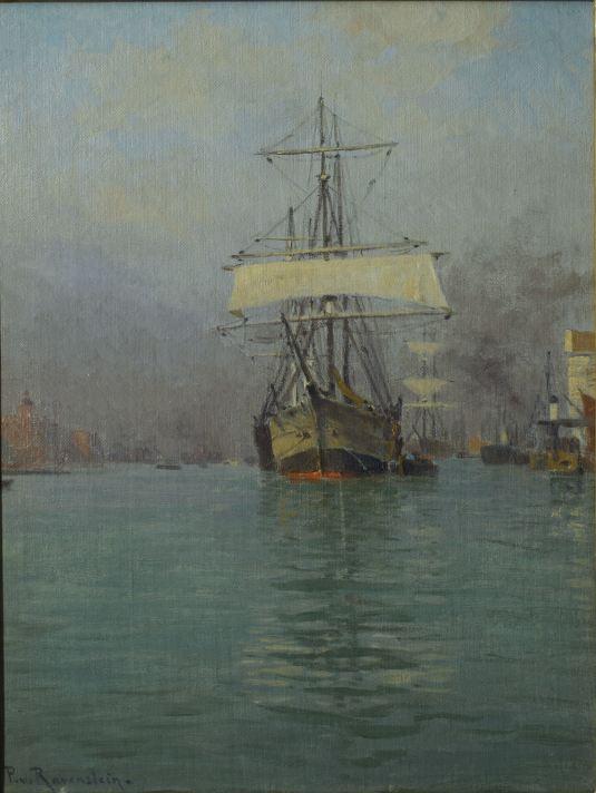 Segelschiff in Venedig