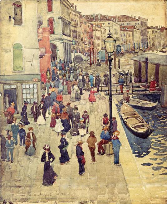 Venise - Maurice Prendergast