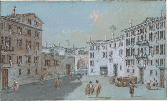 Campiello Trevisani - Giacomo Guardi