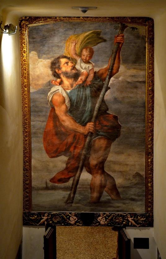 San Cristoforo di Tiziano - Palais des Doges de venise