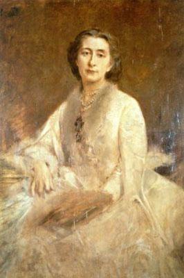 Cosima von Bülow par Lenbach