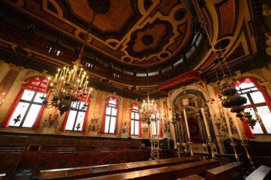 Ghetto, le sinagoghe spagnola e canton.