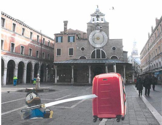 Quo Libero et le trolley ennemi de Venise