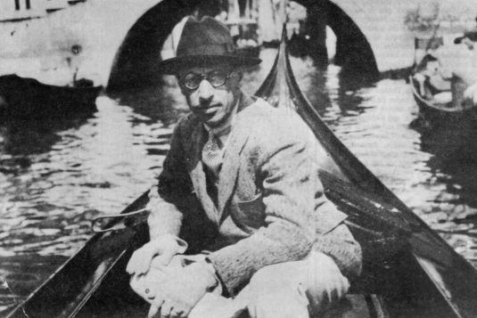 Stravinsky à Venise en 1925
