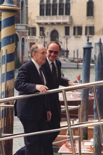 Mitterrand à Venise