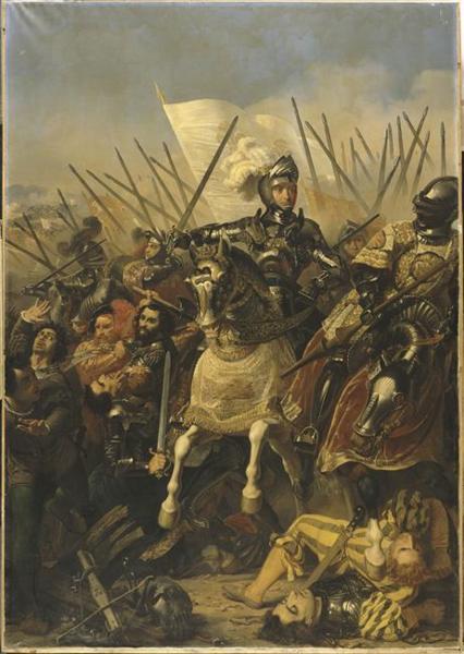 Bataille d'Agnadel, Pierre-Jules Jollivet (1837)