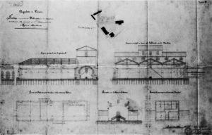 Plan de la station de relevage de Sant' Andrea