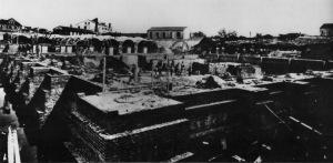 Les citernes de Sant' Andrea lors de la construction - 1882