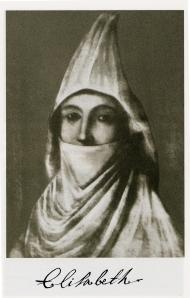 G. Serdioukov. Portrait d'une inconnue. Selon le propriétaire de la peinture PF Simpson, portrait de la princesse Tarakanova