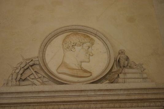 Portrait de Gian Antonio Selva - monument dans le théâtre La Fenice (1837)