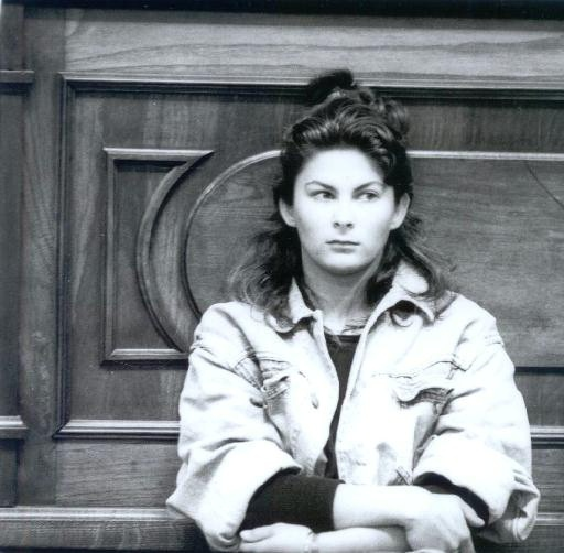 Katharina Miroslawa pendant son procès en février 1993