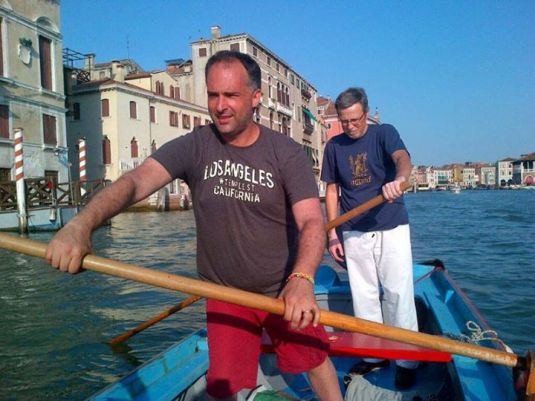 "Lesson de Vaoga alla Veneta sur le Grand canal avec ""L'altra Venezia""!"