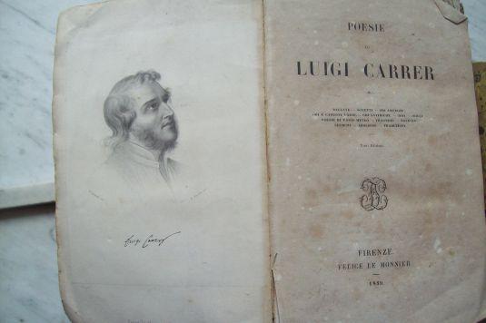 Poesie de Luigi Carrer