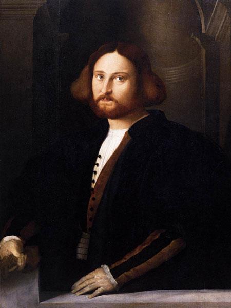 Palma il Vecchio - Ritratto di Francesco Querini,