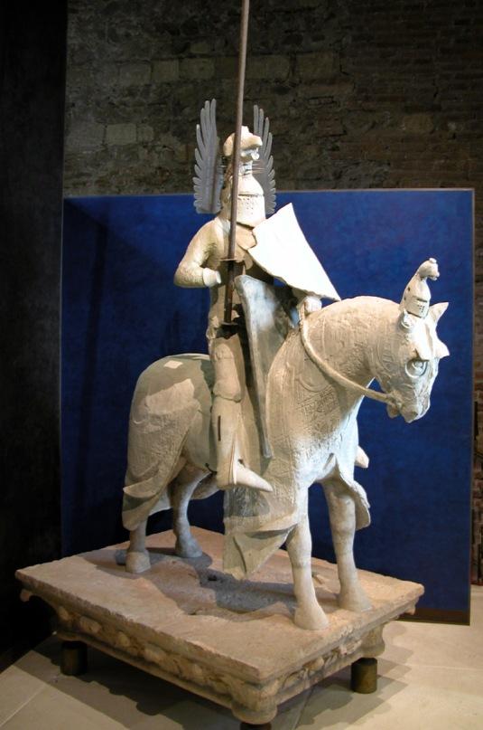 Statue équestre de Mastino II della Scala